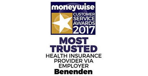 Moneywise Most Trusted Health Insurance Provider via Employer