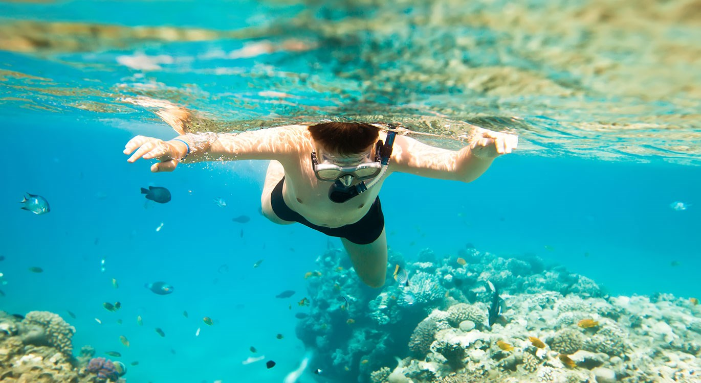 Try something new this summer: go underwater