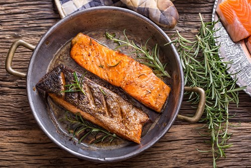 fatty fish essential for a healthy brain
