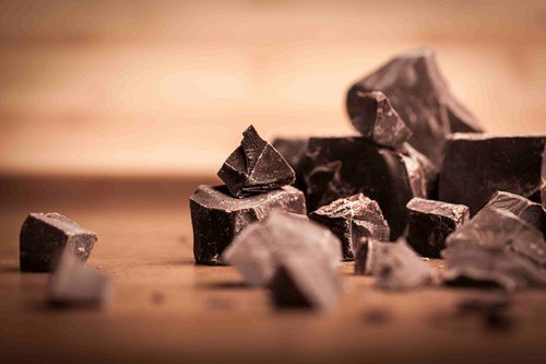 high caffeine in chocolate make in a bad choice before bed