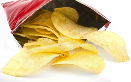 crisps bad before bed - salt dehydrates the body