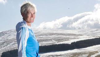Judy Murray's fitness tips