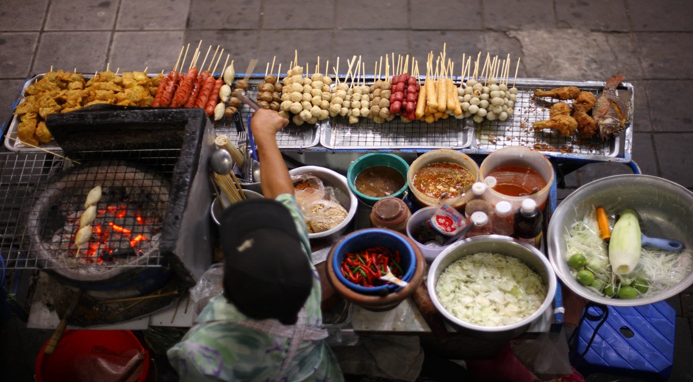 Thai Street Food Seller