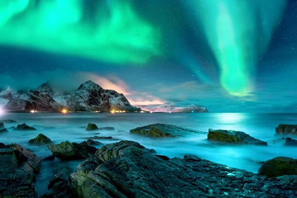 Image of Northern lights in Iceland