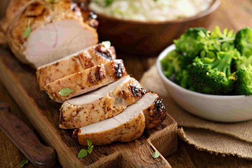 turkey is high in tryptophan that calms the body