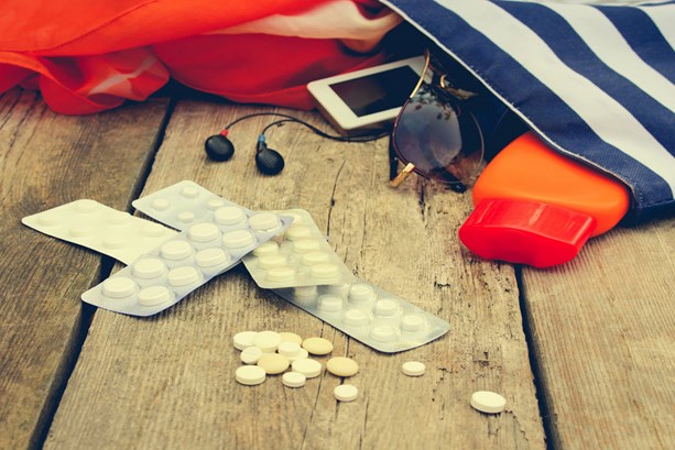 beach-accessories-and-medication