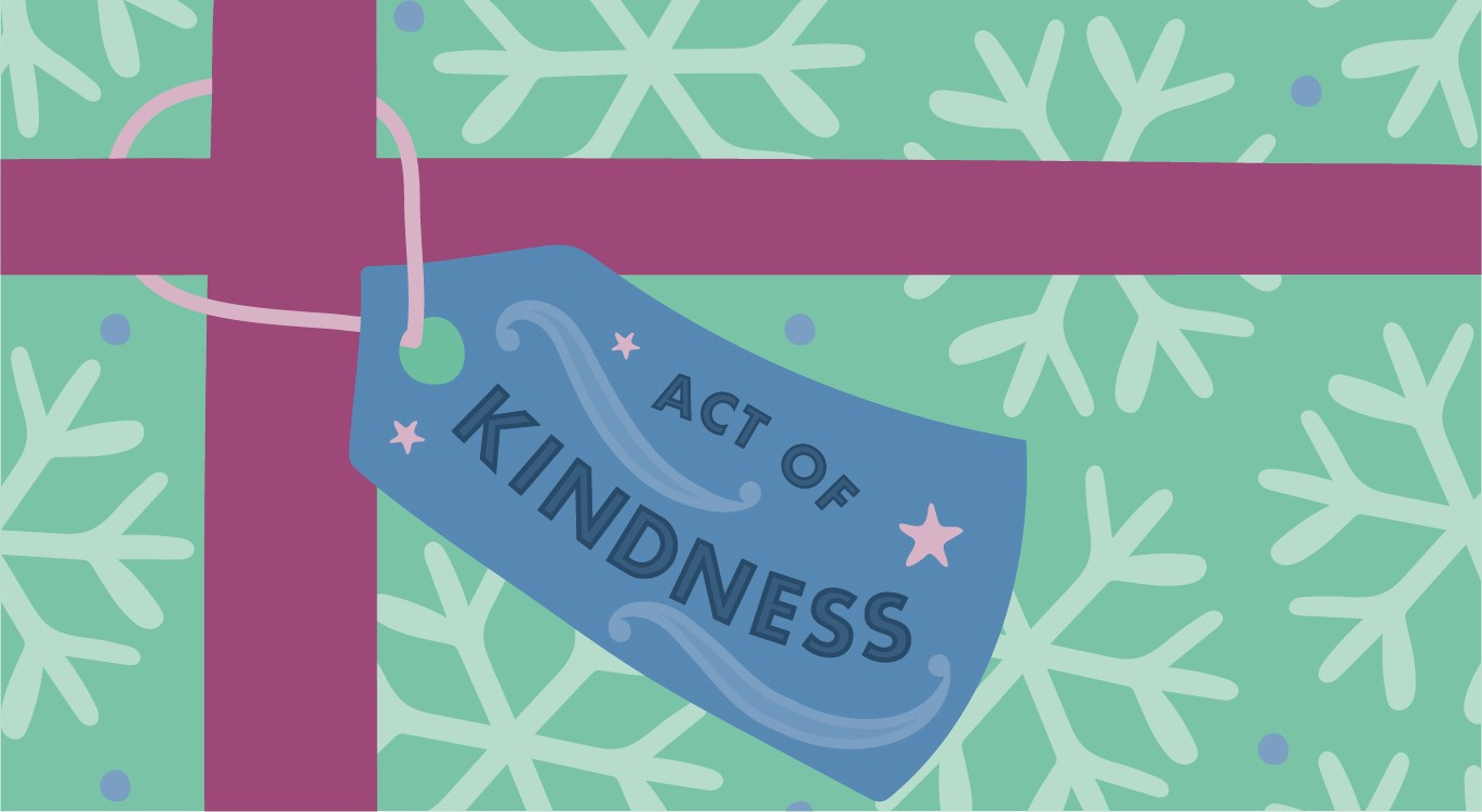 give an act of kindness this christmas