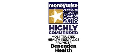 Moneywise Award 2018
