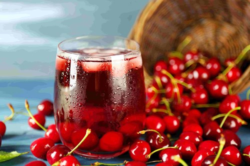 Cherries are good for sleep as they naturally contain melatonin