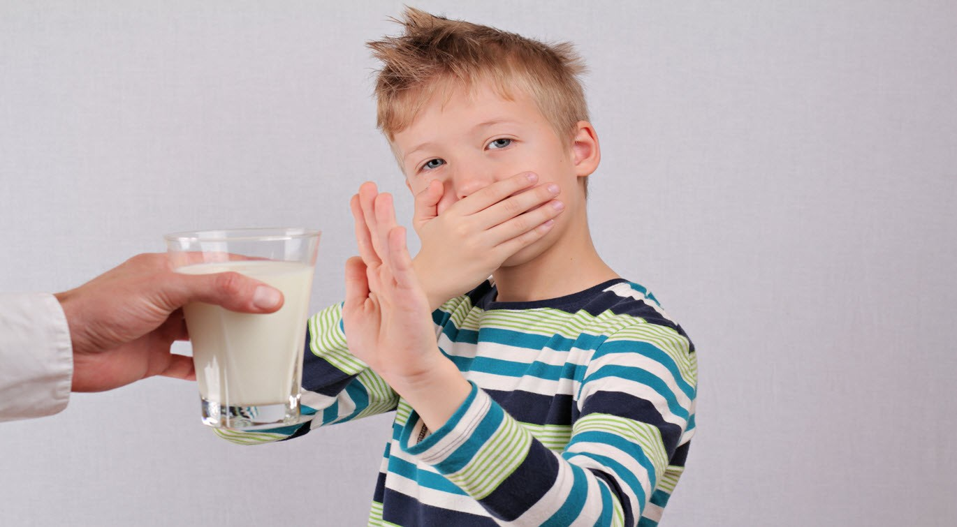 lactose intolerance dairy intolerant child refuses milk