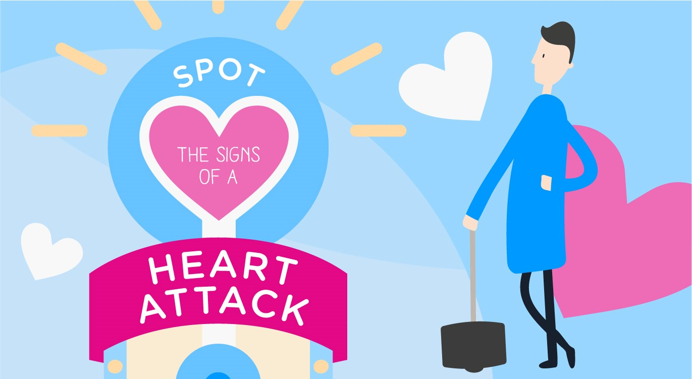 how to spot a heart attack