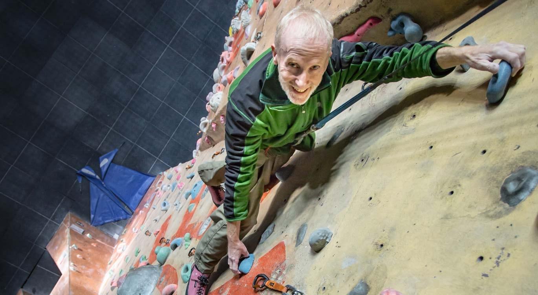 Still climbing at 72