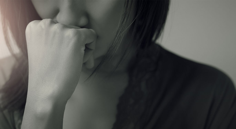 Mental health - Sad woman