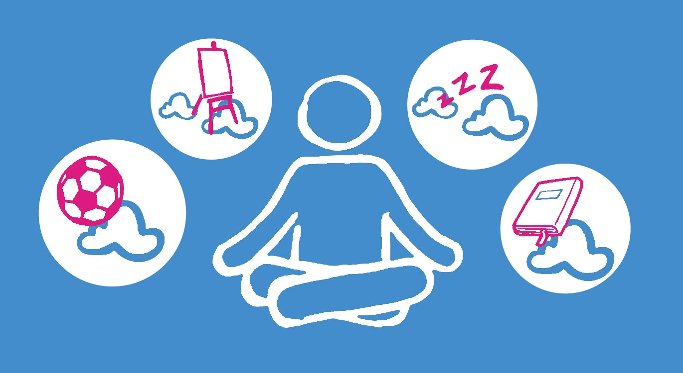Meditating and other ways to stay calm